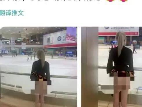 """「南宁跳伞塔视频」女子在南宁多个知名地标拍""""不雅照"""",下半身近全裸身旁还有路人,警方介入"""