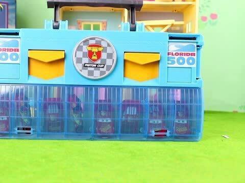 「赛车总动员51号叫什么」赛车总动员:活塞杯弹射发射器收纳箱玩具分享