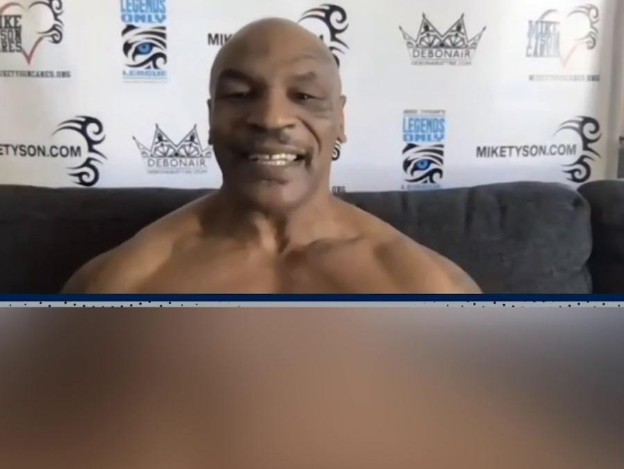 「拳王泰森打死的人」54岁拳王泰森大秀巨石肌肉 时隔15年再度出山!