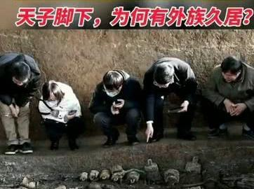 「洛阳邙山墓地的价格」11月27日,考古专家查看河南洛阳徐阳墓地标号为M15的墓葬发掘现场,2600多年前天子脚下,有容乃大
