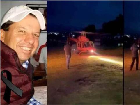 """「墨西哥安全吗」墨西哥富商走向直升机,瞬间被螺旋桨'爆头""""身亡"""