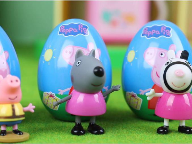 「小猪佩奇第六季」小猪佩奇:惊喜蛋拆箱 得到新成员斑马苏怡小狗丹尼