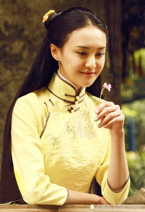 """本以為鄭爽穿旗袍夠美了,看到娜扎,才知道什麼是""""古典美人""""! 【女性時尚前沿】"""