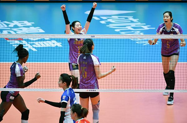 无计可施!上海女排遭受横扫,天津获夺冠关键,3:0夺冠势在必得