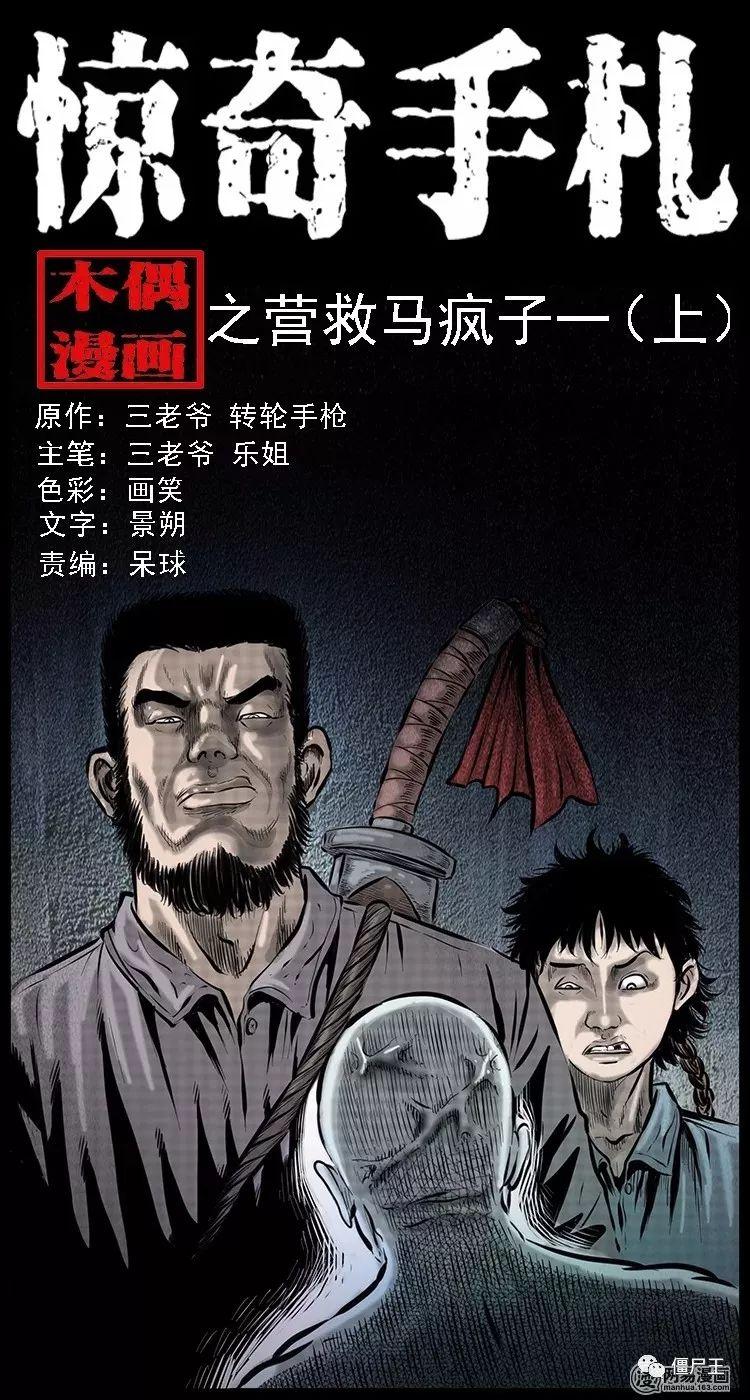 恐怖漫画:惊奇手札之营救马疯子(一)-僵尸王