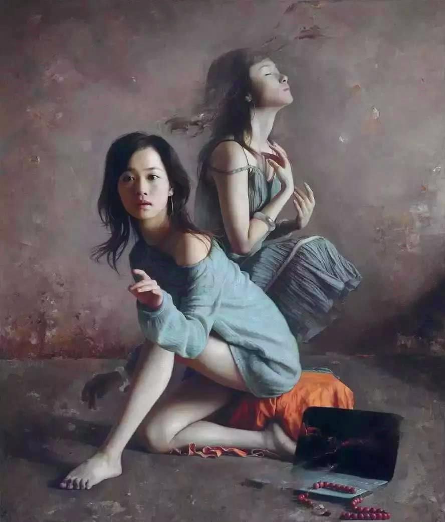 將東方女性的美表現得如此神秘,王明月視繪畫為生命 【驚龍軒】
