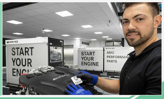 全新梅賽德斯-AMG A 45動力曝光 實車7月份發布 【網通社】 自媒體 第2张