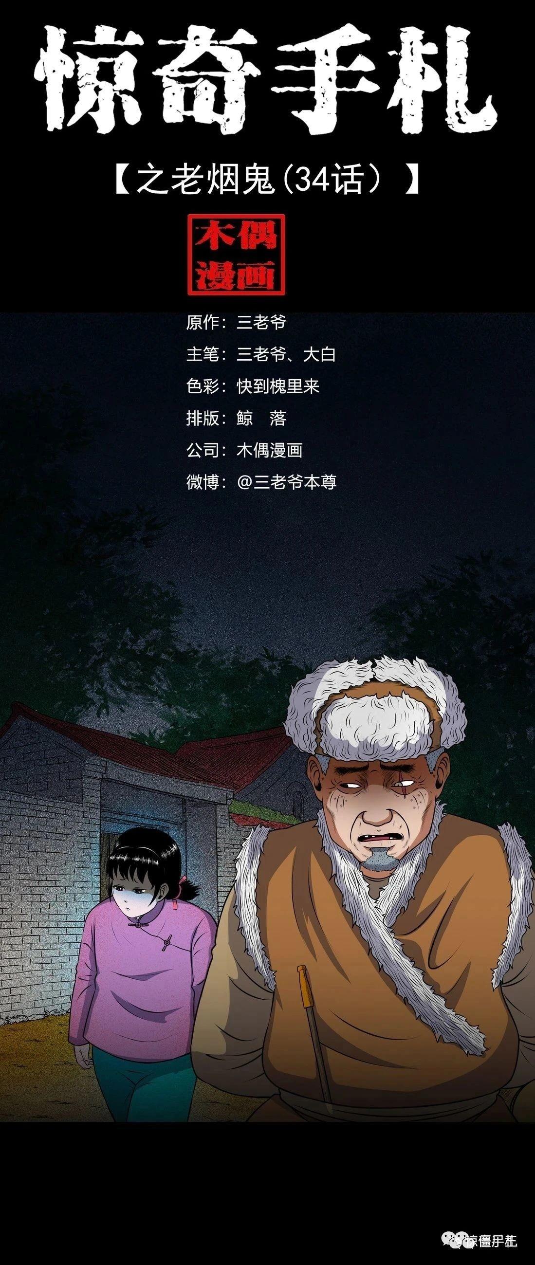 僵尸王漫画:惊奇手札之老烟鬼(三十四)