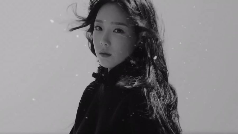 叮咚!圣诞新曲官方宣传人少女时代泰妍又来咯!