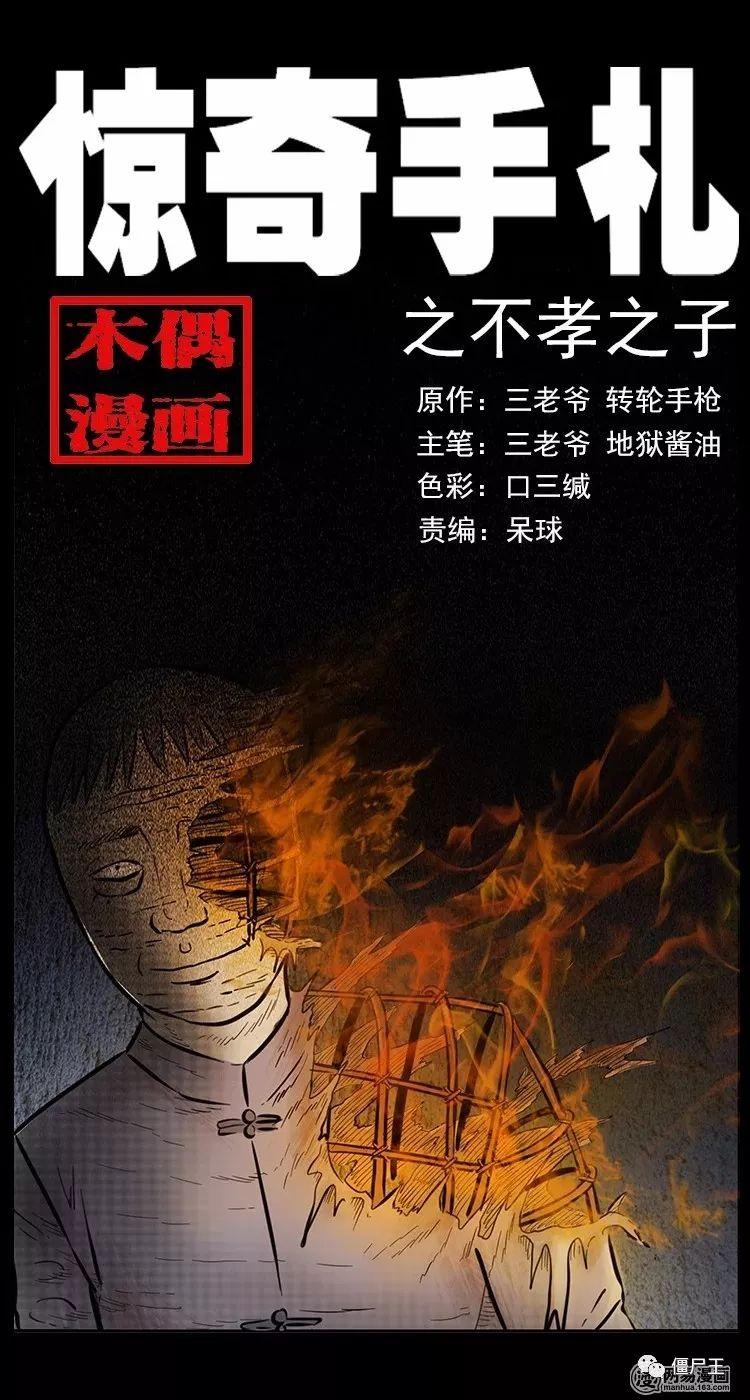 恐怖漫画:惊奇手札之不孝之子-僵尸王