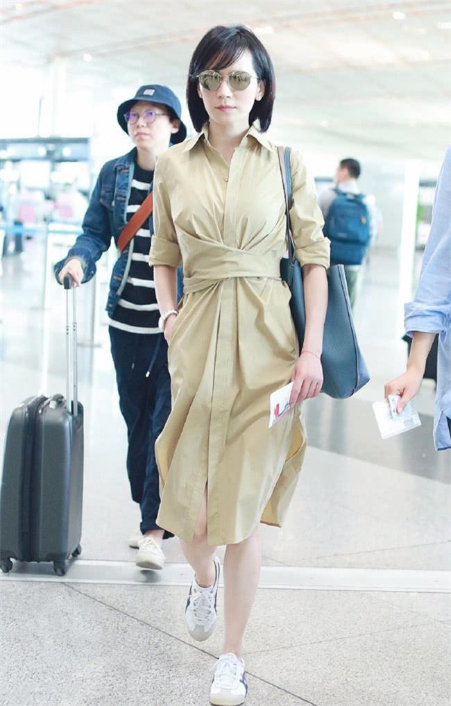 優雅迷人的襯衫裙,俞飛鴻韓雪教你來演繹,什麼叫做氣質如蘭 【摩麗穿搭經】