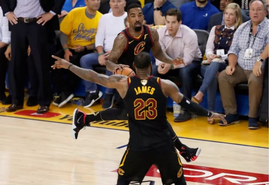 JR揚言已釋懷總決賽失利!詹皇隨後作出回應:這是我一生的痛 運動 第1张