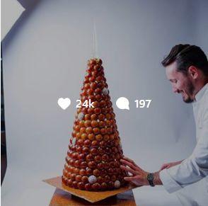 """一夜吸粉71万,他是当今全球最火""""糕点男神"""",他的蛋糕里藏着魔鬼-中国记录"""