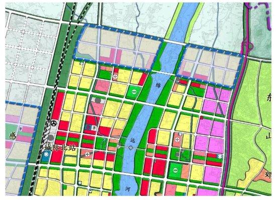 城北这个296.4亩的大公园我喜欢,高铁组团的规划不是一般叼