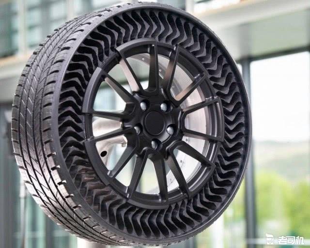不用充氣不怕被扎 米其林Uptis免充氣輪胎2024年到來 【老司機出品】 自媒體 第2张