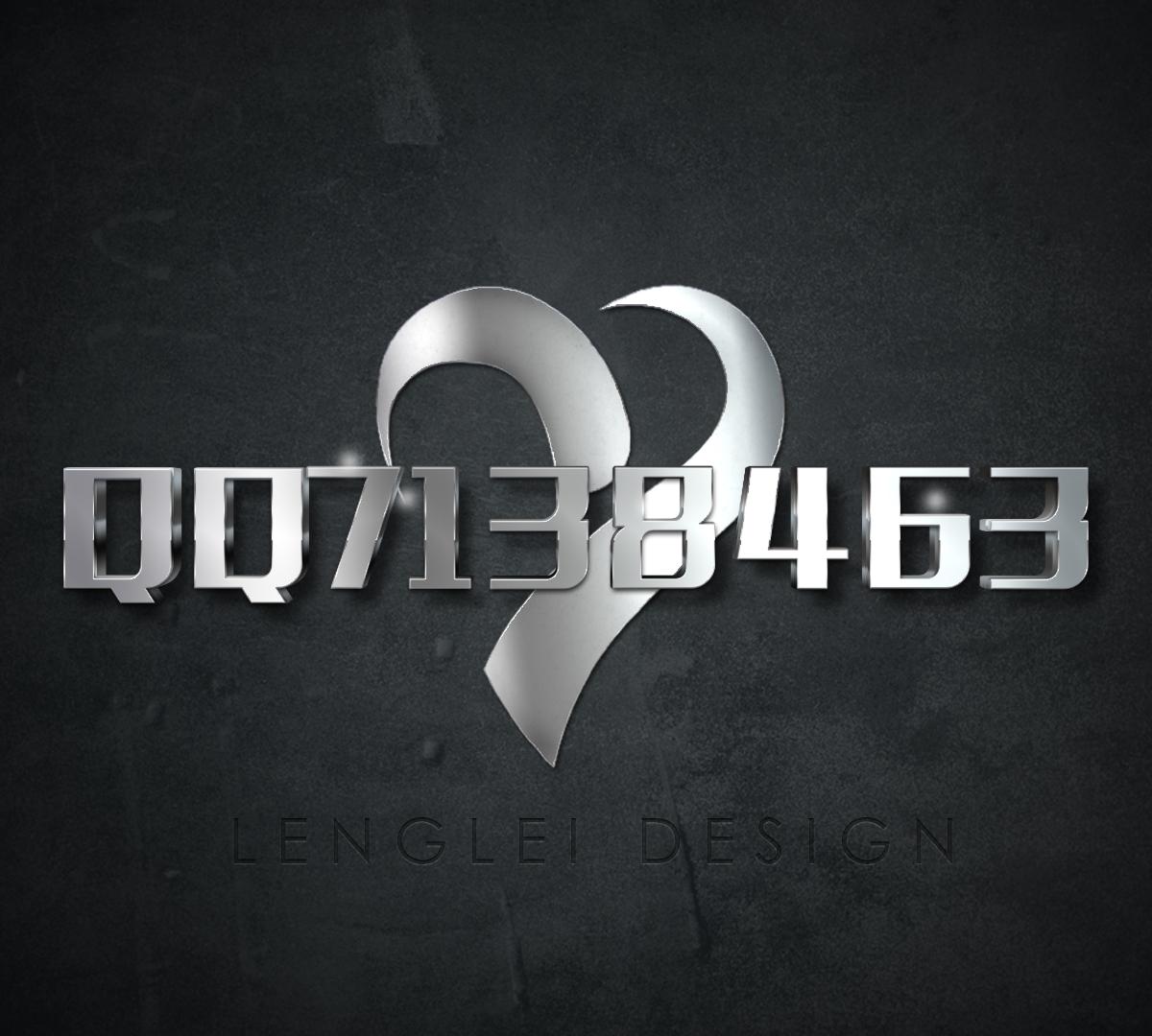 创意金属字体设计 智能图层一键替换可做资料卡背景_From:冷类技术网-冷类qq7138463-www.lljsw.com