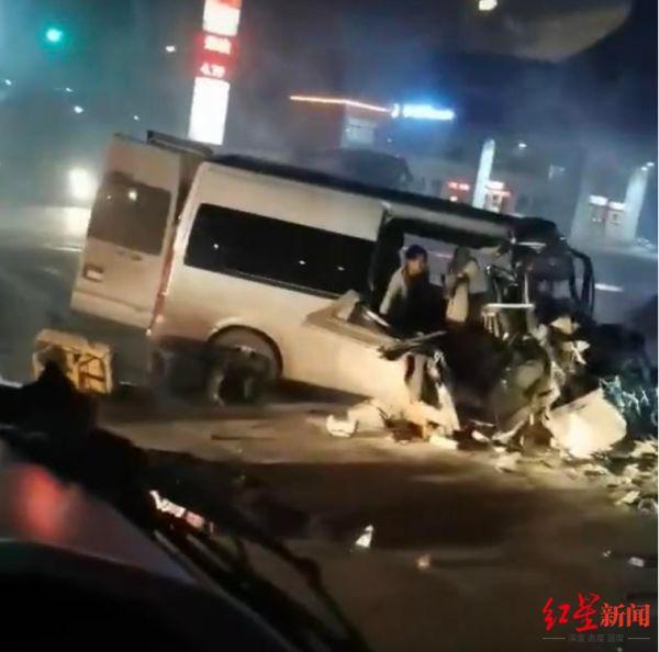 河南汤阴客货车相撞致6死6伤 事故调查人员回应疑因被执法车辆追:涉事车辆已找到正调查 司机此前涉危险驾驶还在取保候审