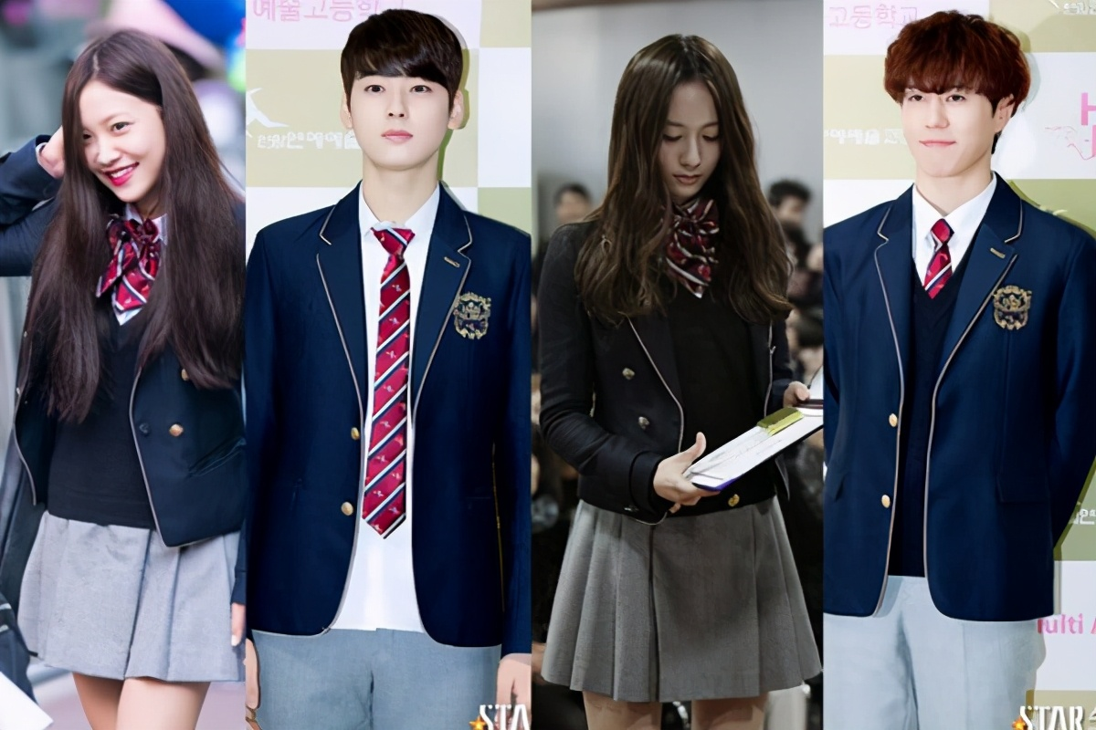 Look at the school uniforms of 5 schools in South Korea, which